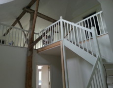 Verbouw in huis